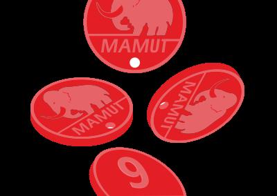 Brelok Mamut