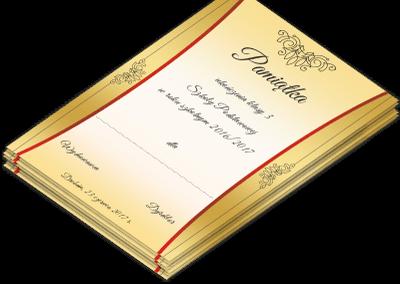 Dyplom Szkoła Drobnin