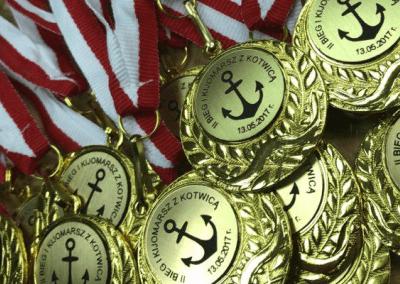 Medal Bieg z kotwicą