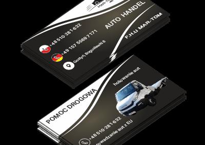 Wizytówka Mar-Tom Auto handel