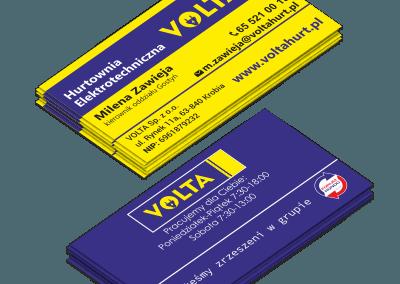 Wizytówka Volta